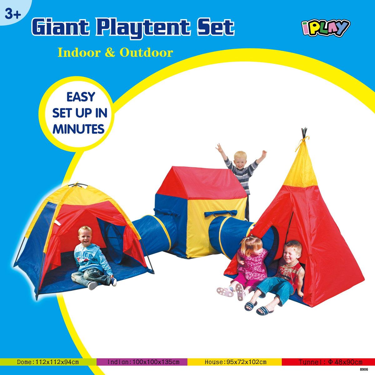 Indoor/Outdoor Giant Play Tent Set  sc 1 st  Only Online Deals & Indoor/Outdoor Giant Play Tent Set | Only Online Deals