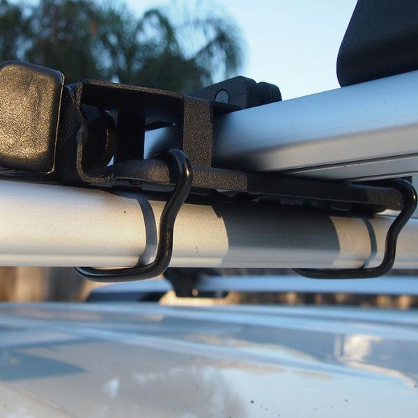 U-bolt installation on bike carrier