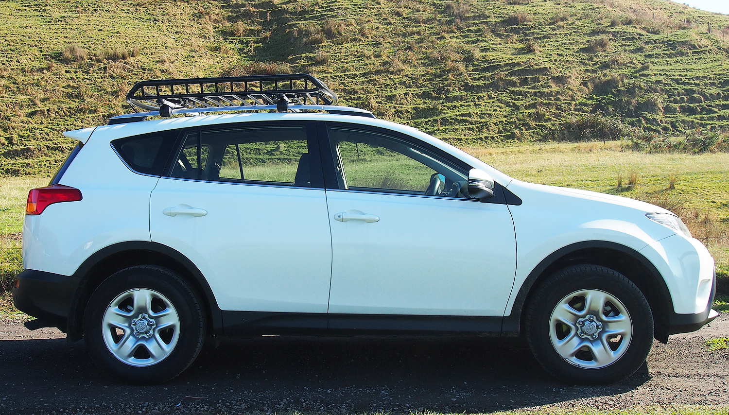 Small HD Steel Roof Cage on a Toyota RAV 4