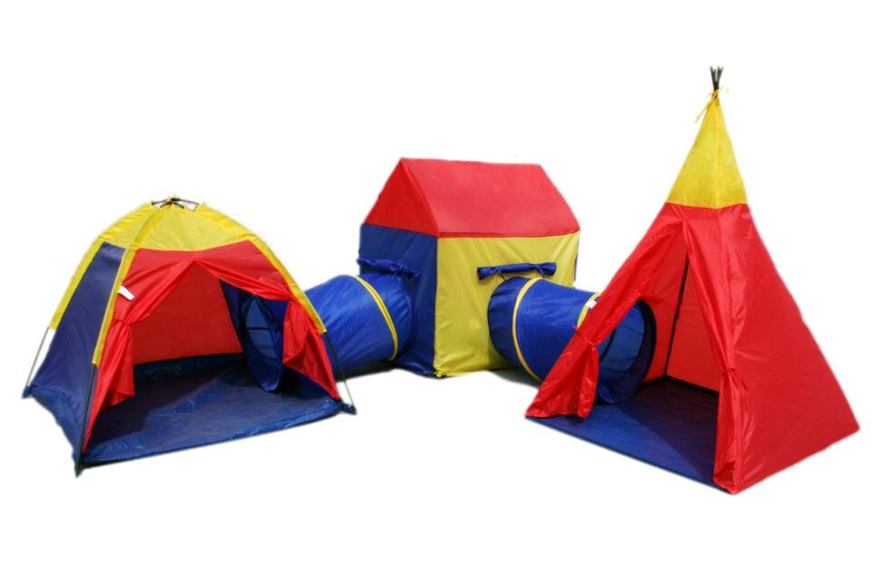 Indoor Outdoor Giant Play Tent Set Only Online Deals