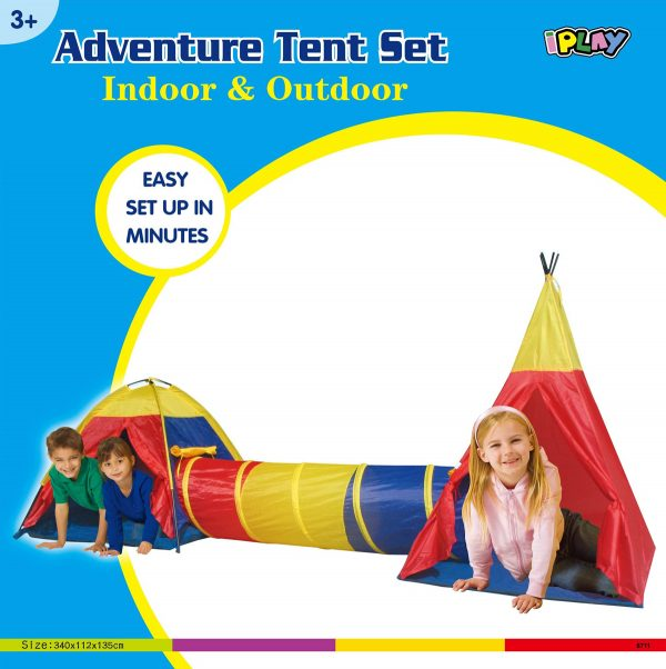 Adventure Play Tent Set Packaging