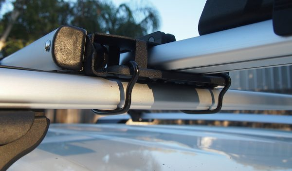 U-bolt installation on bike carrier