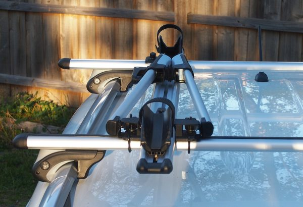 Bicycle Carrier - Top front view