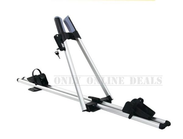 Roof-mounted Aluminium Bicycle Carrier