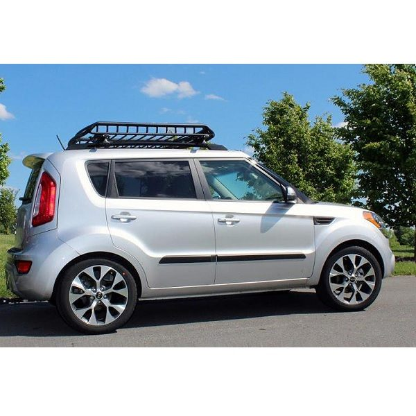 Small Heavy Duty Steel Roof Cage on a Kia Soul
