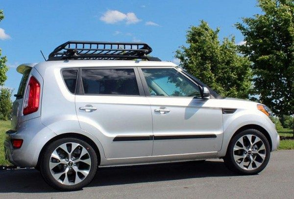 Small Roof Cage on a Kia Soul