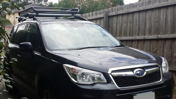Roof Cage on a Subaru Forrestor