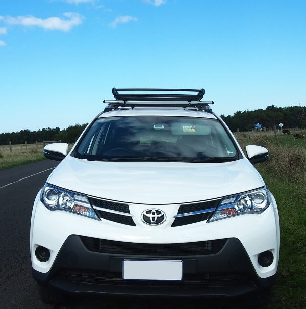 Small Heavy Duty Steel Roof Cage on a Toyota RAV 4