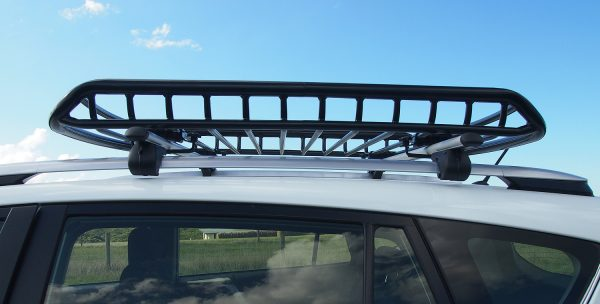 Small Heavy Duty Steel Roof Cage - Side view